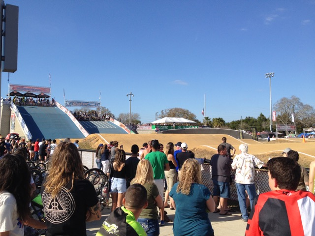 Gatornationals BMX Starting Hill Amateur