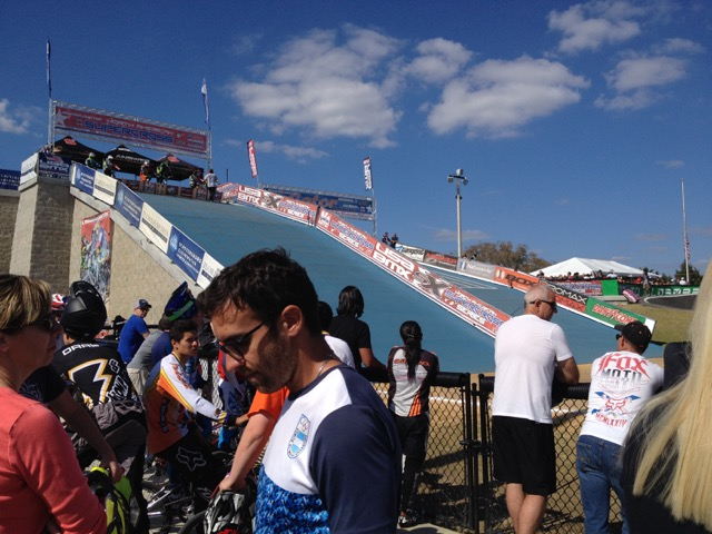 Gatornationals BMX Starting Hill