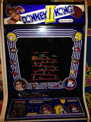 donkey kong II video game
