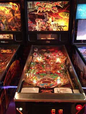 mars attachs pinball