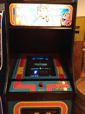 Ms Pacman video game